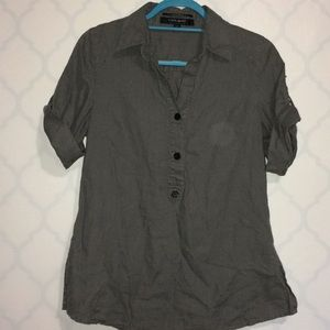 Coupe Collection 100% linen shirt Size S